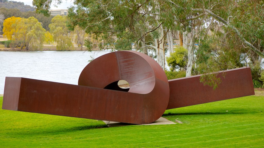 National Gallery of Australia showing outdoor art
