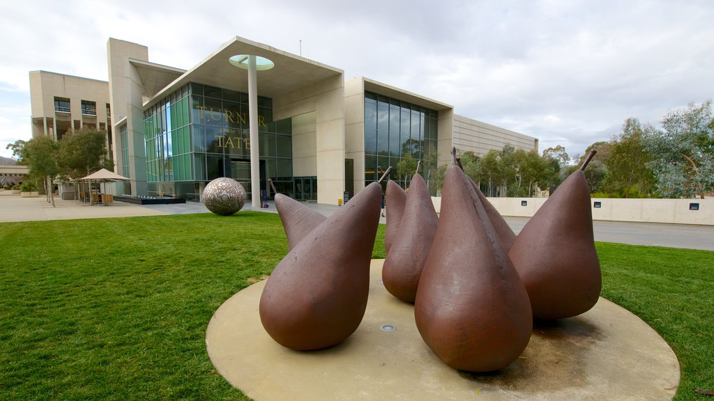 National Gallery of Australia featuring outdoor art