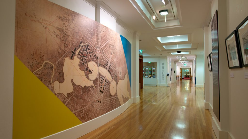 National Archives of Australia showing interior views