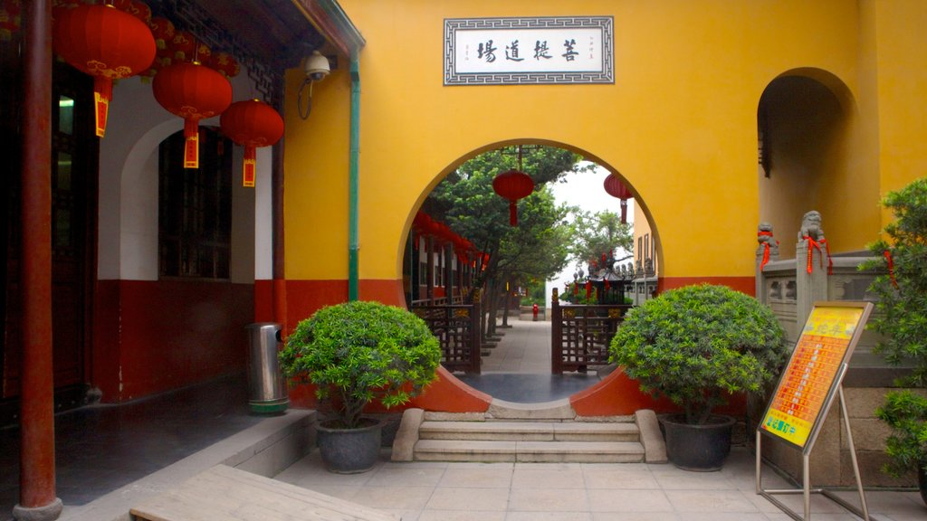 Jade Buddha Temple featuring religious elements and a temple or place of worship