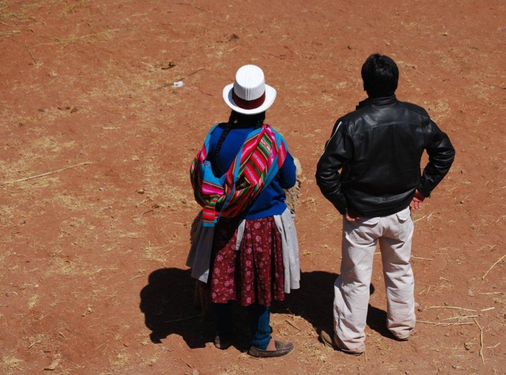 Couple sud-américain