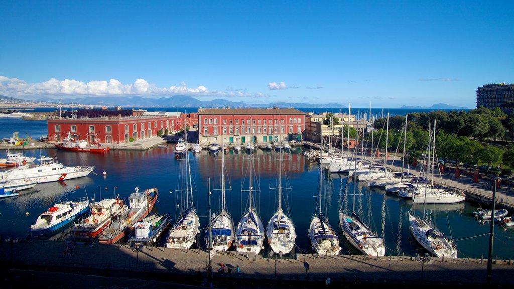 Naples showing sailing, general coastal views and boating