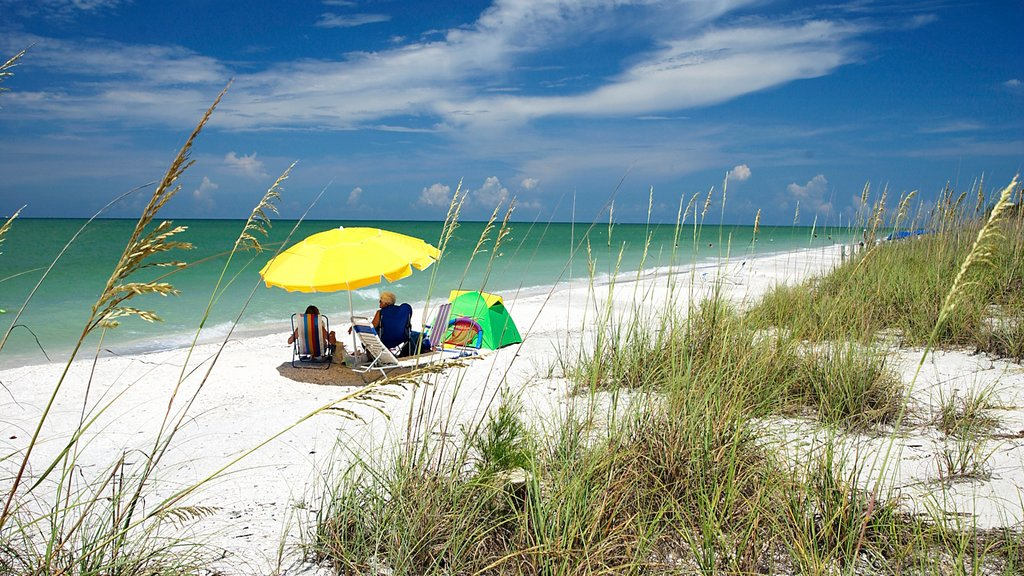 Sanibel Captiva Island showing general coastal views and a beach as well as a couple