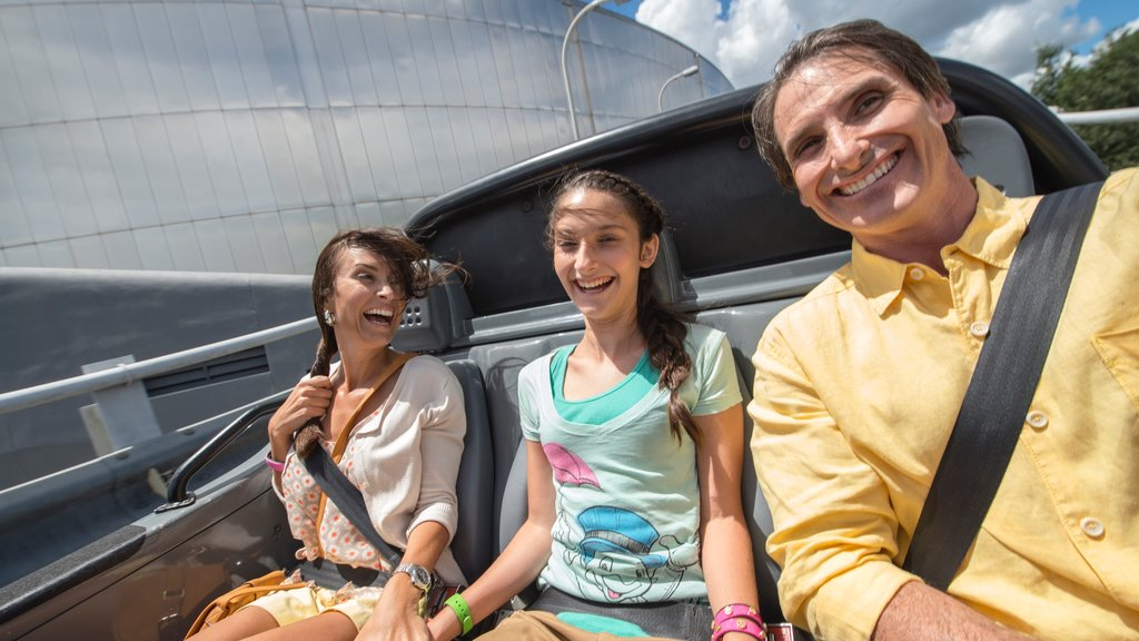 Epcot® which includes rides as well as a family