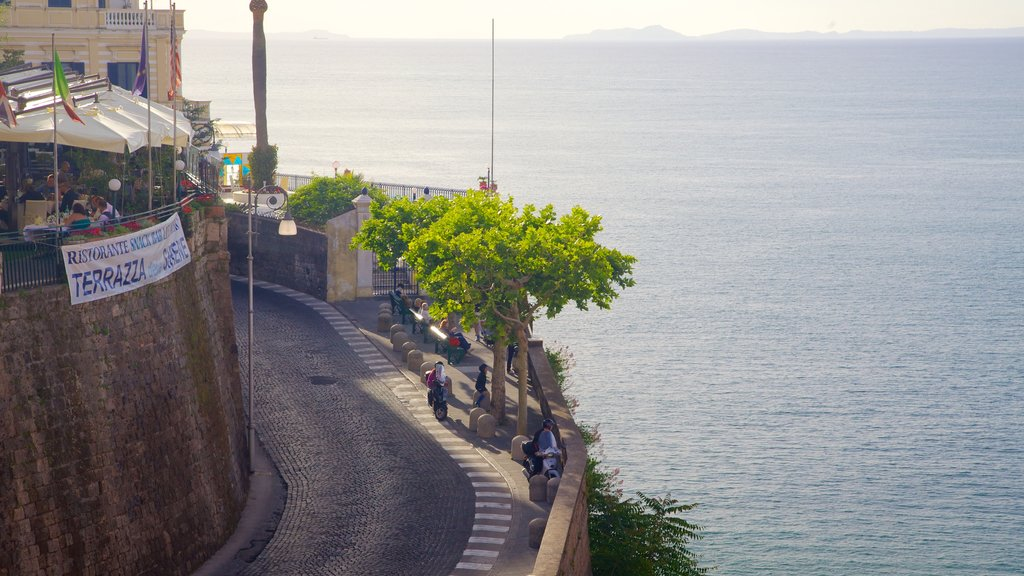 Piazza Tasso featuring general coastal views and a city