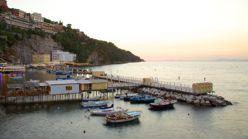Marina Grande featuring a coastal town, general coastal views and boating