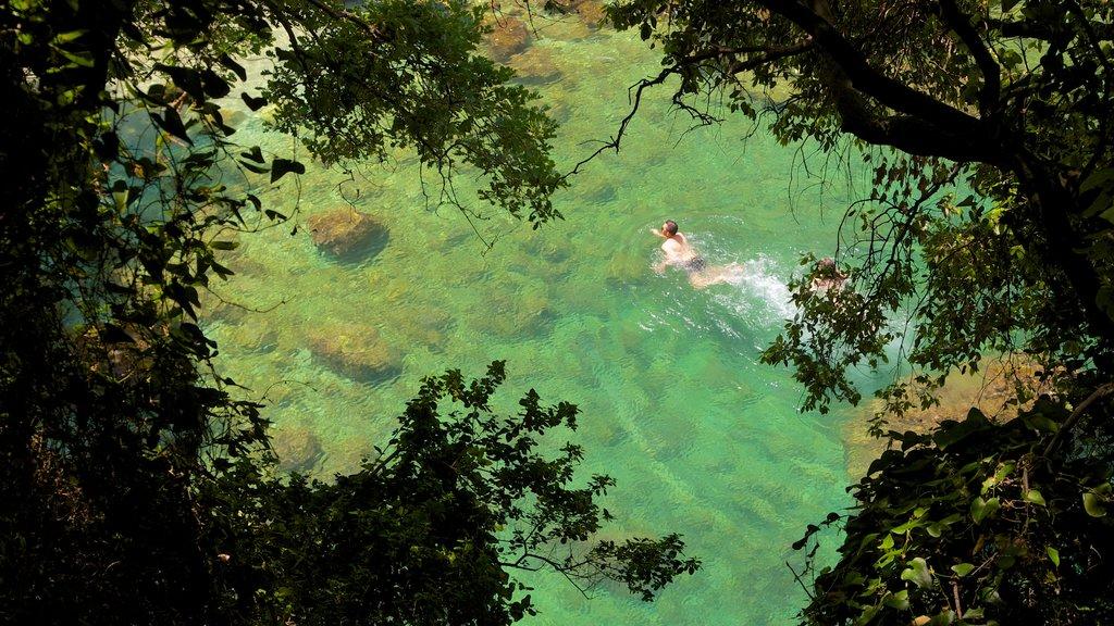 Baños de la Reina Giovanna que incluye natación, un lago o abrevadero y vistas de paisajes