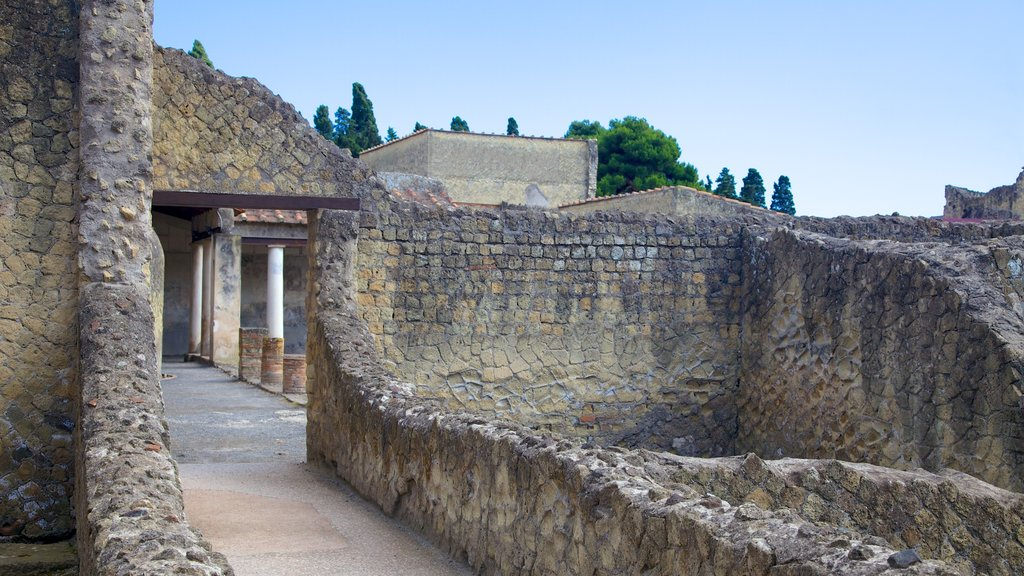 Ercolano which includes heritage elements, a ruin and heritage architecture