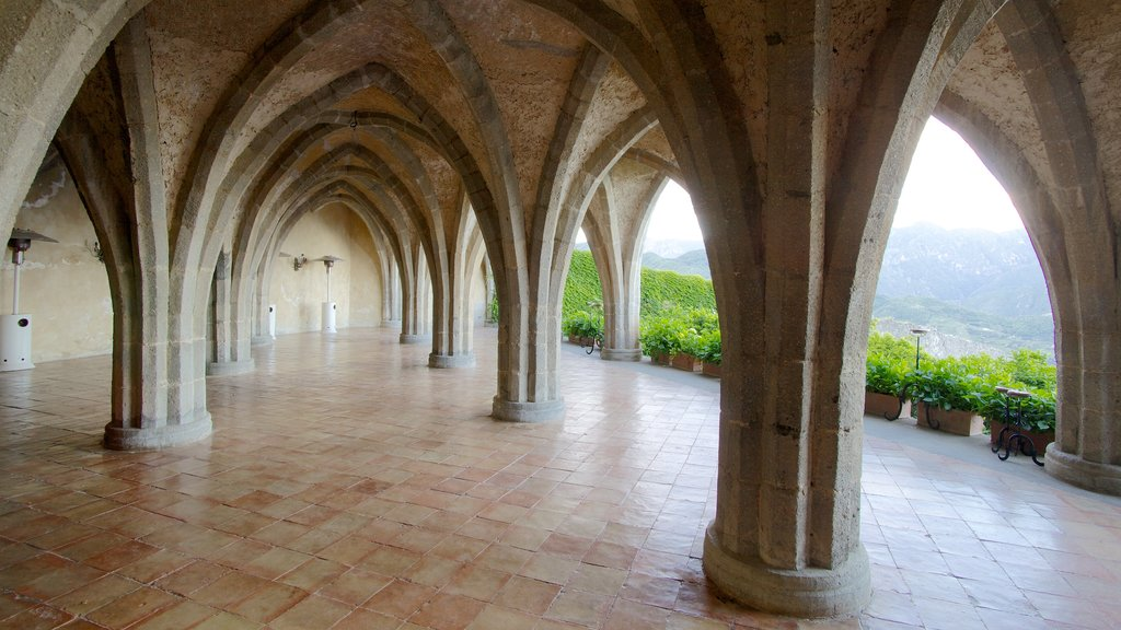 Ravello featuring heritage architecture and interior views