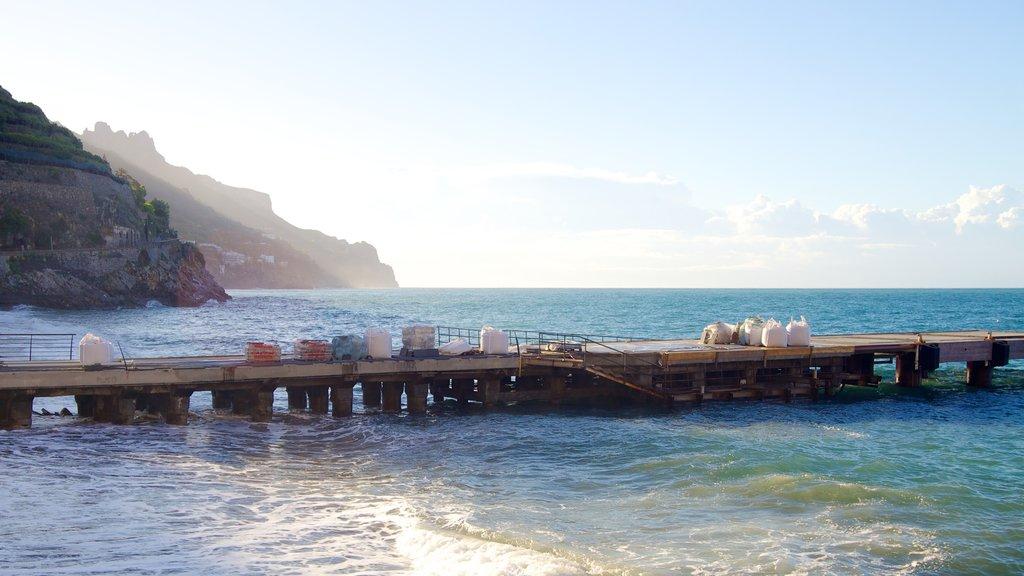 Minori featuring general coastal views
