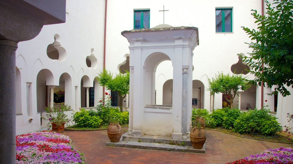 Church of San Francesco showing a church or cathedral, a square or plaza and religious elements
