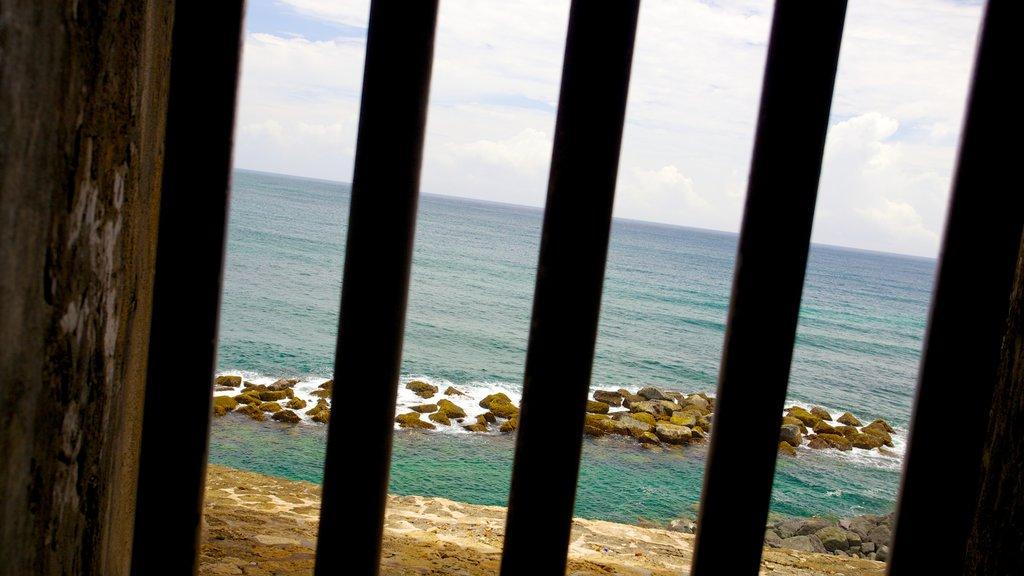 El Morro showing general coastal views