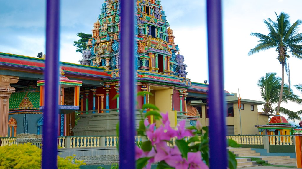Sri Siva Subramaniya Temple featuring religious aspects and a temple or place of worship