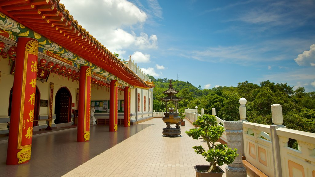 Sandakan which includes religious aspects and a temple or place of worship