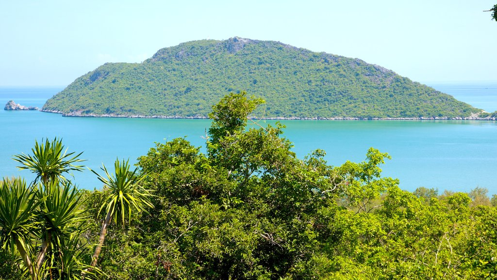Hua Hin which includes tropical scenes, landscape views and island views