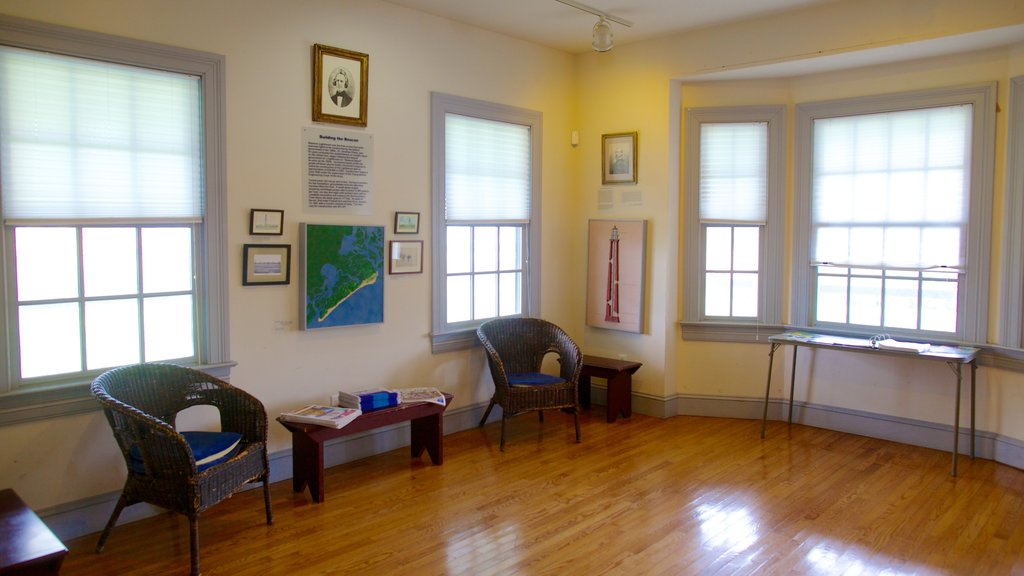 Absecon Lighthouse showing interior views