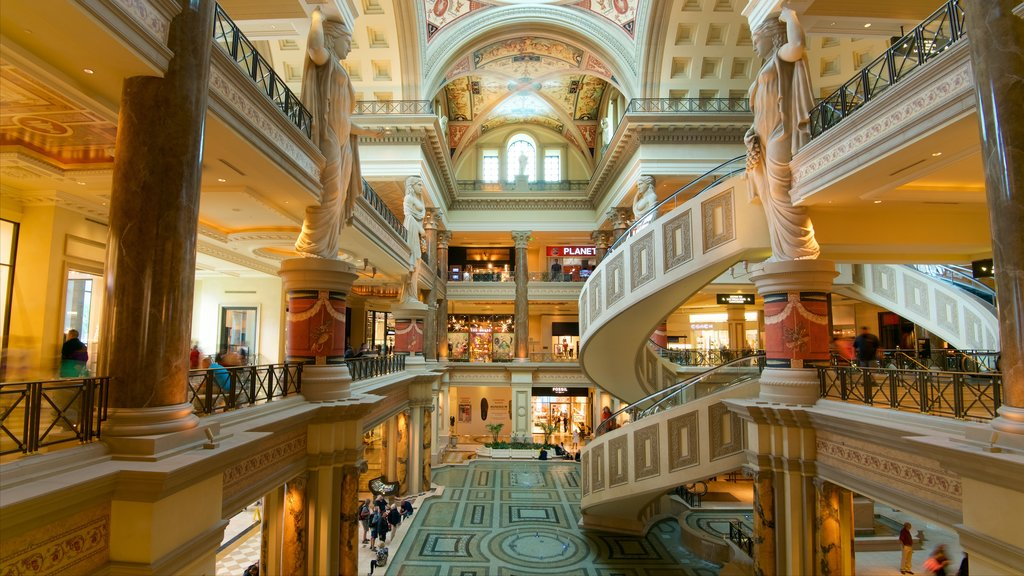 Las Vegas featuring interior views and shopping