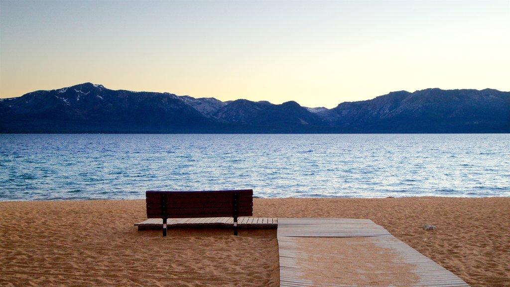 Nevada Beach featuring a beach, general coastal views and a sunset
