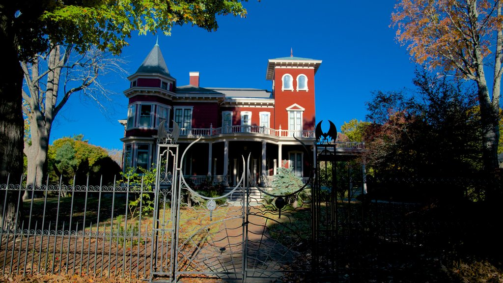 Stephen King\'s House showing heritage elements and a house
