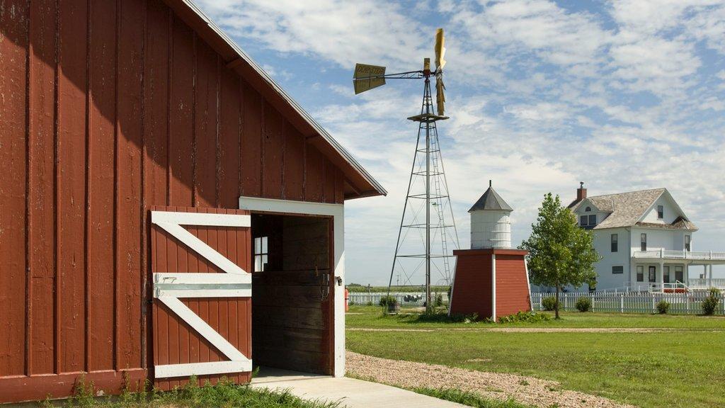 Granja histórica Wessels que incluye tierras de cultivo