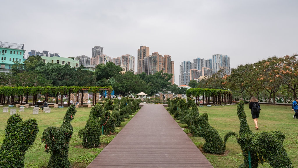 Taipa which includes a park
