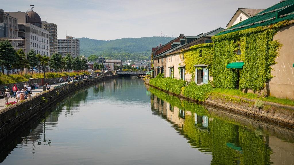 Otaru mostrando un río o arroyo