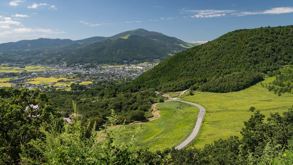 Yufu showing mountains, landscape views and tranquil scenes