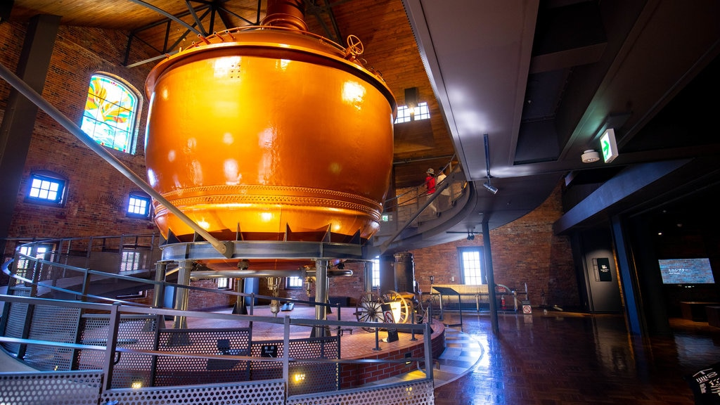 Sapporo Beer Museum showing interior views