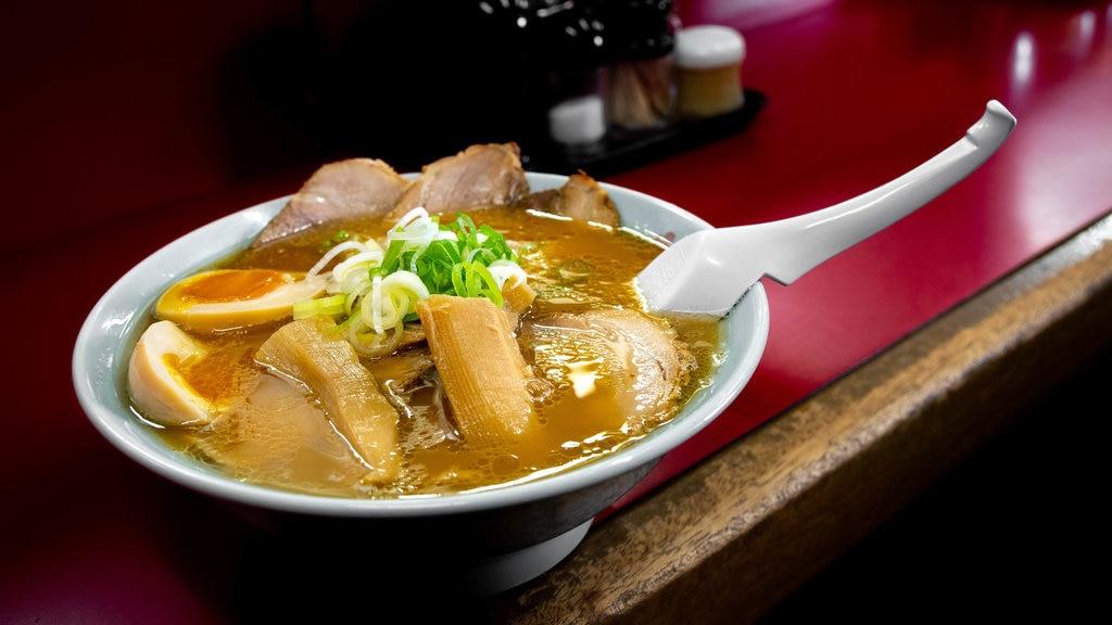 Asahikawa featuring food