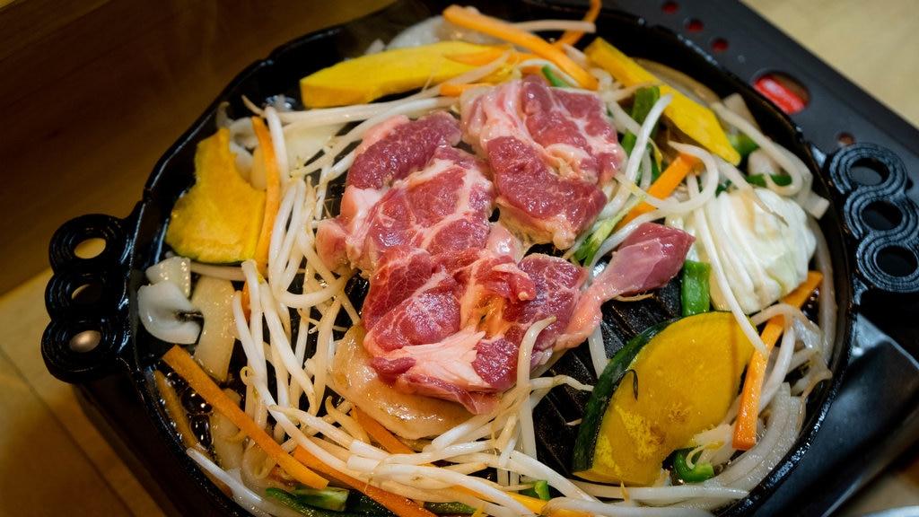 Otaru que incluye comida