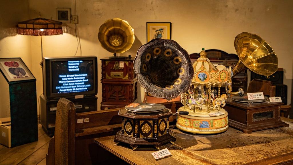 Otaru que incluye vistas interiores y elementos del patrimonio