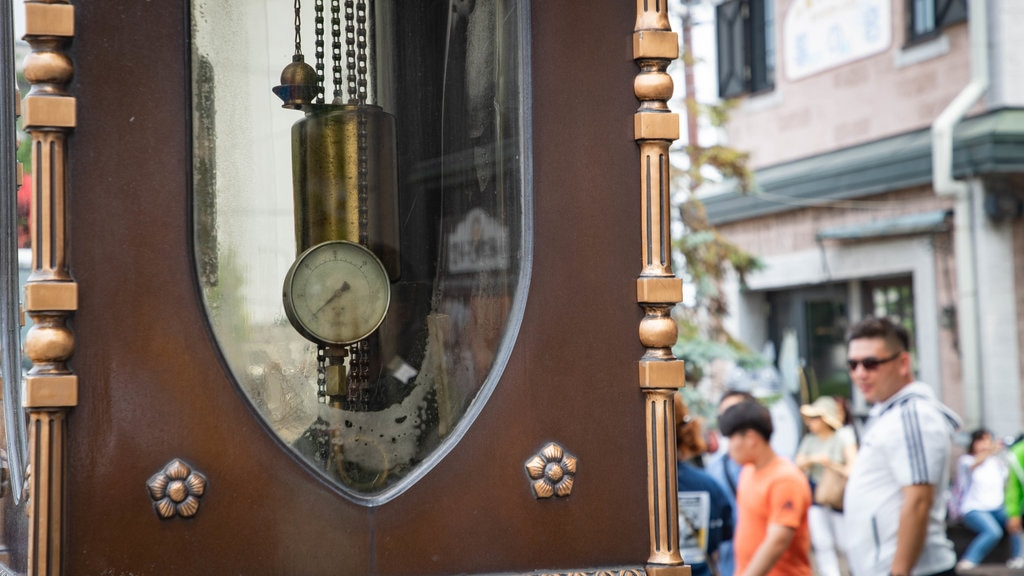 Otaru que incluye elementos del patrimonio