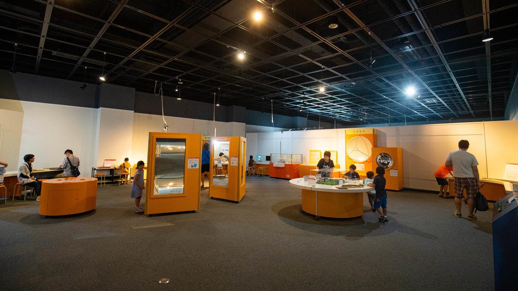 Museo General Ungakan de la Ciudad de Otaru ofreciendo vistas interiores