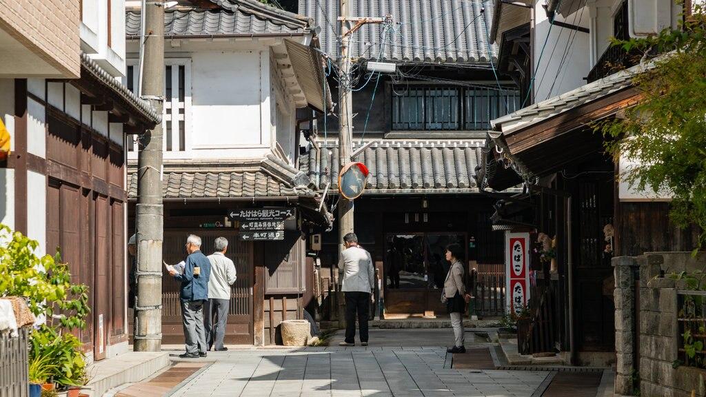 Takehara featuring street scenes