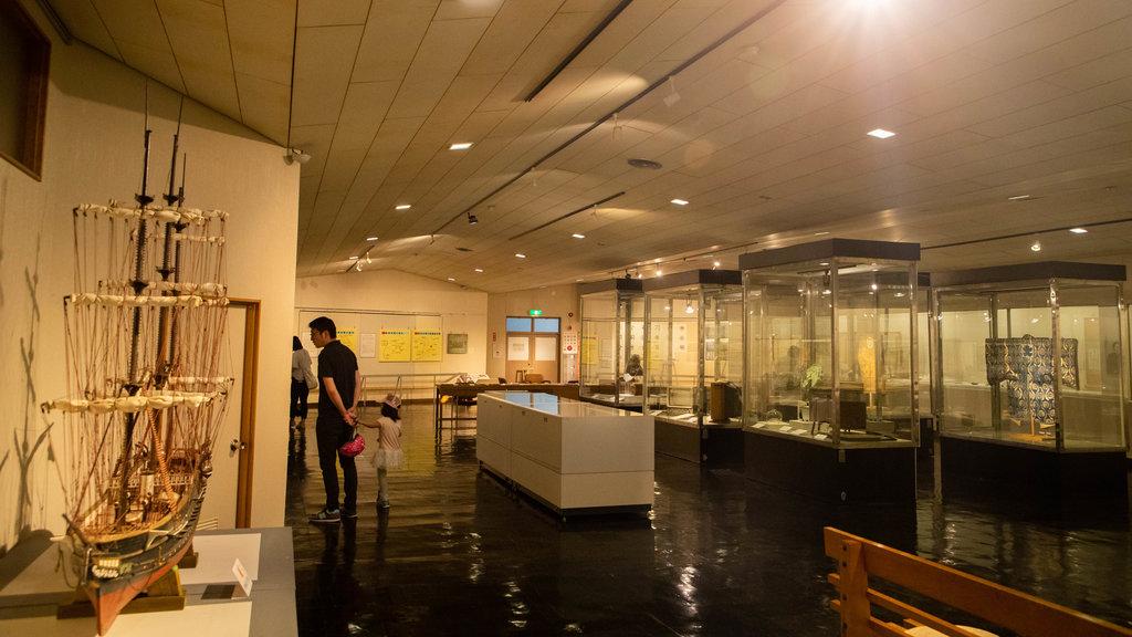 Museo de la Ciudad de Hakodate ofreciendo vistas interiores