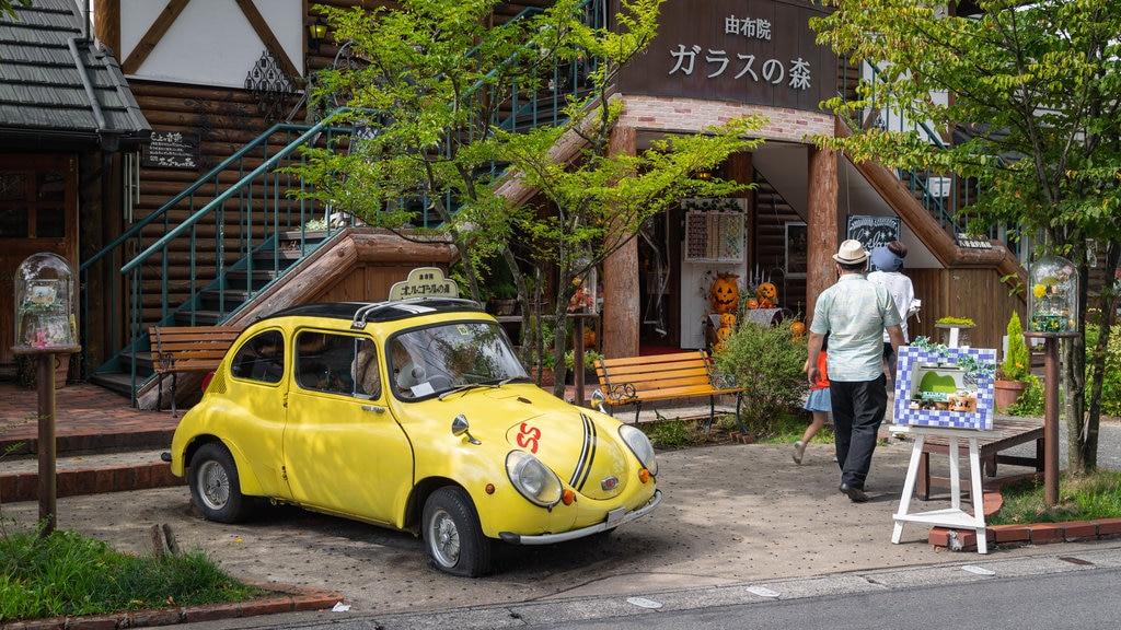 Kyushu and Okinawa showing street scenes