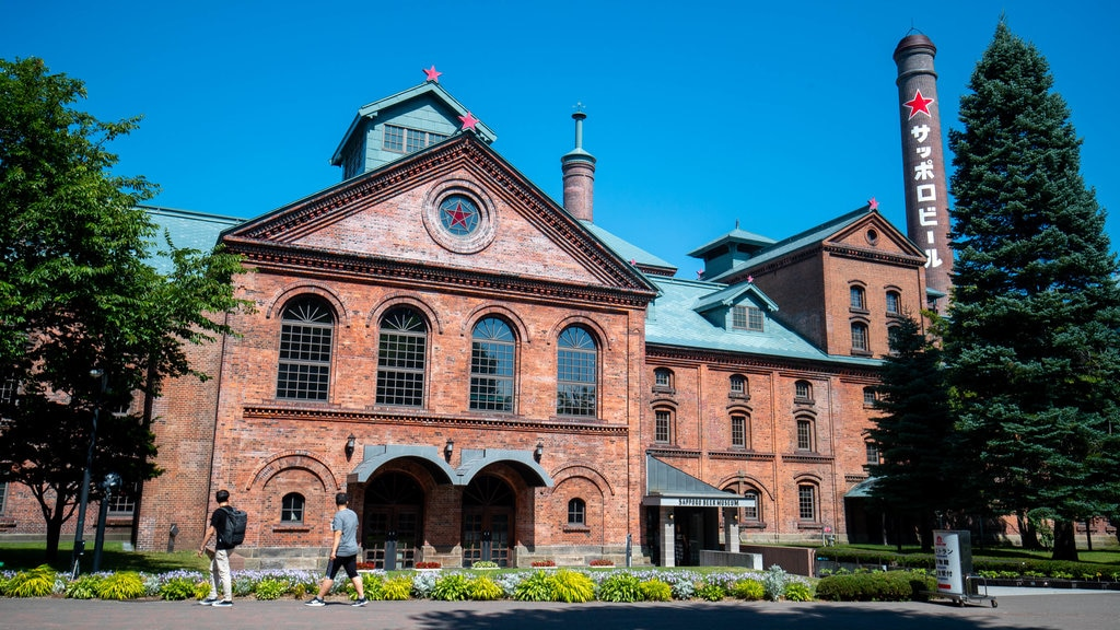Sapporo Beer Museum which includes heritage architecture