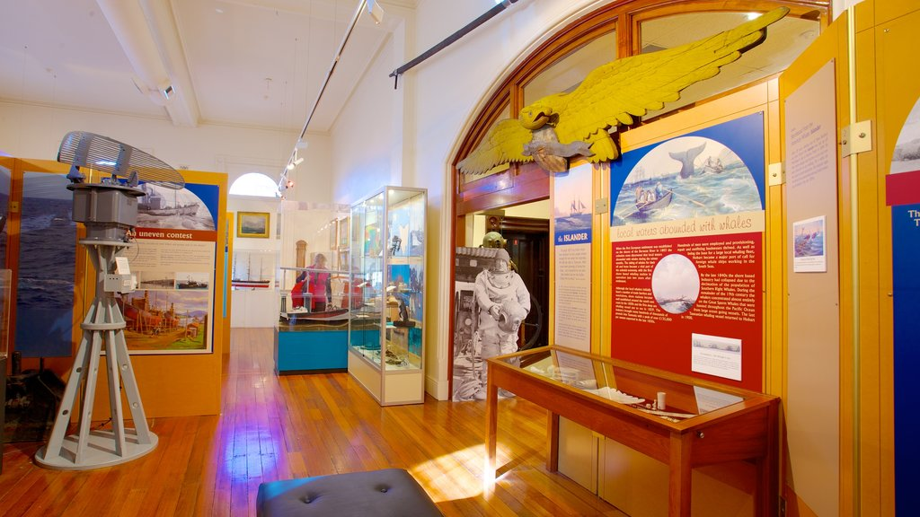 Maritime Museum of Tasmania showing interior views