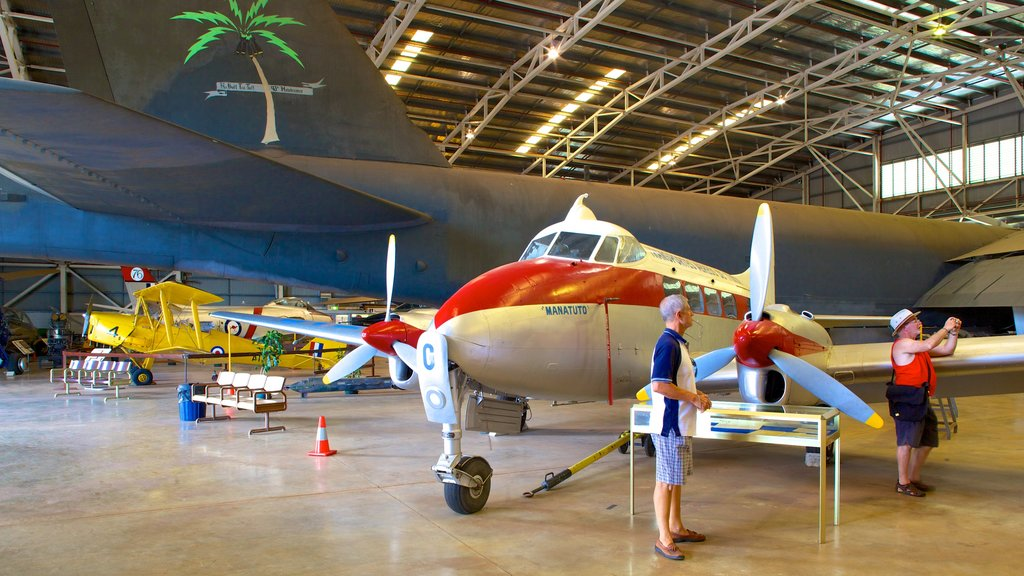 Australian Aviation Heritage Centre which includes aircraft and interior views as well as a small group of people