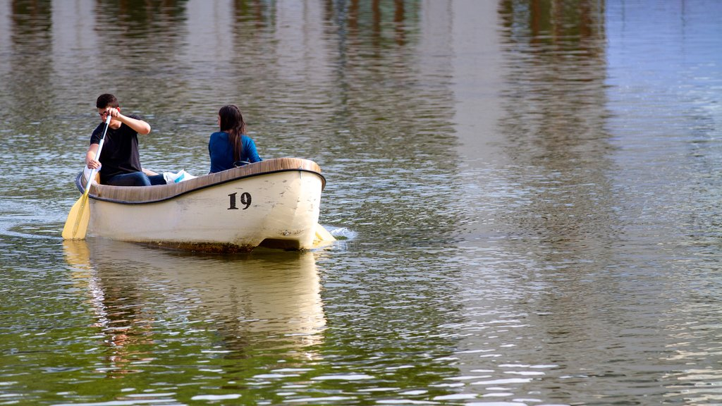 City Park featuring kayaking or canoeing and a lake or waterhole as well as a couple