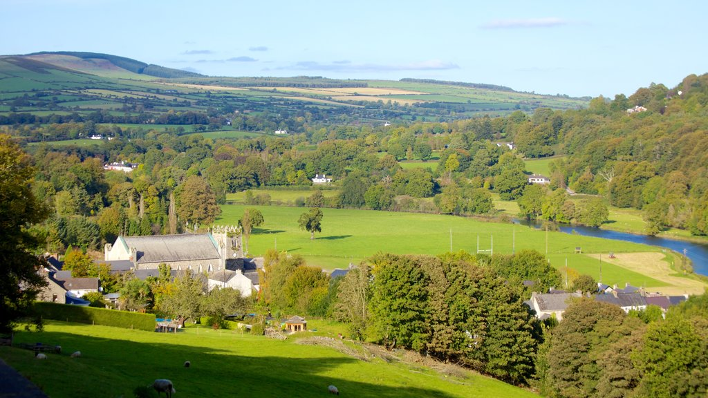 Kilkenny showing a small town or village, tranquil scenes and landscape views