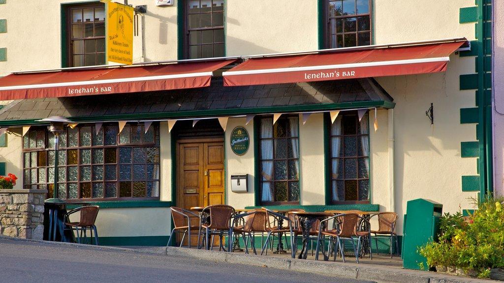 Kilkenny ofreciendo estilo de vida de café, una ciudad y escenas urbanas