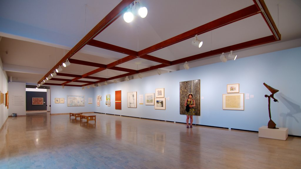 Mendel Art Gallery which includes interior views and art