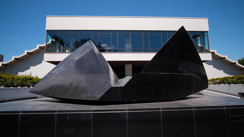 Museo de Arte Moderno de Hokkaido ofreciendo arte al aire libre