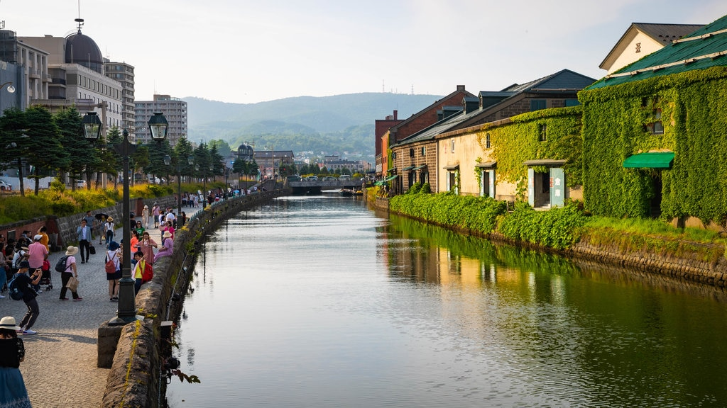 Otaru Canal featuring a river or creek