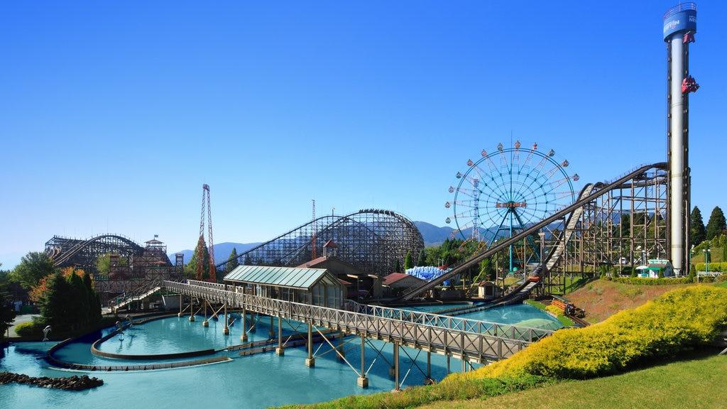 Kijima Kogen Park which includes rides and landscape views
