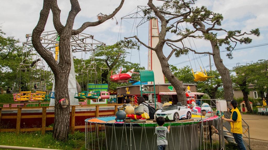 Parque de Hakodate que incluye paseos