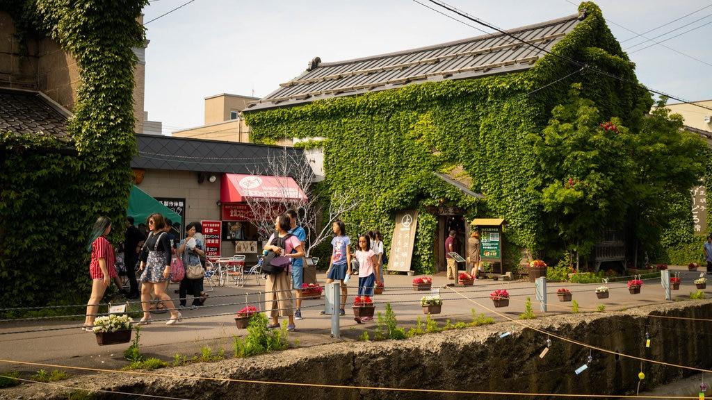 Calle Sakaimachi ofreciendo escenas urbanas