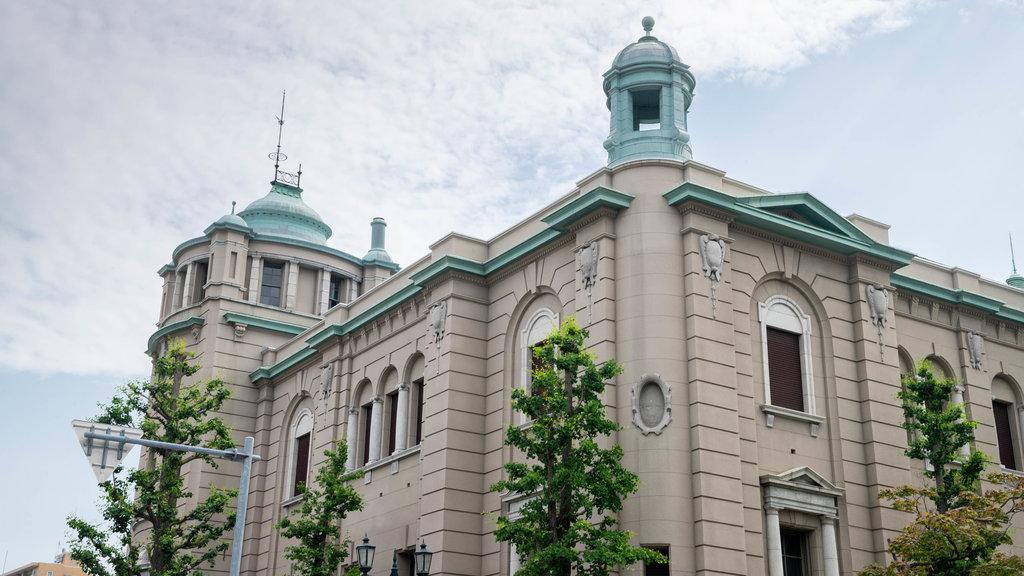 Otaru featuring heritage architecture