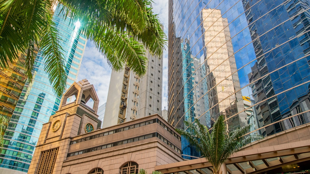 Sheung Wan featuring a city